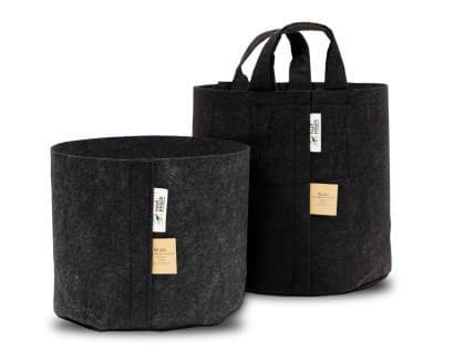 Thin Black Fabric Grow Bags